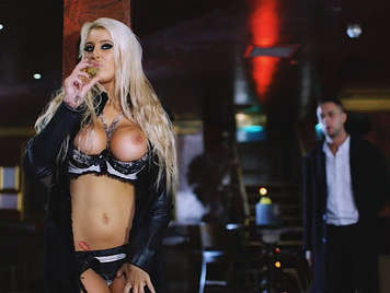 Brooklyn Blue, is a luxury British hooker with huge boobs addicted to lingerie and champagne