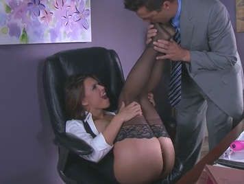 Fucking with the more slut secretary of the office
