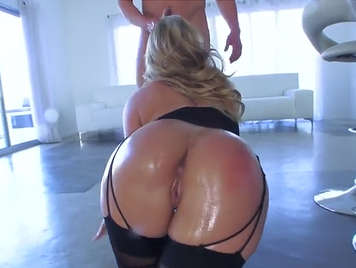 amazing oiled ass and well fucked