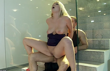 Images - The Anal Sex on the Stairs
