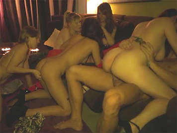 Orgy in der Villa von Nacho Vidal