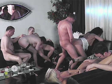 European orgy with mature amateurs from Hannover