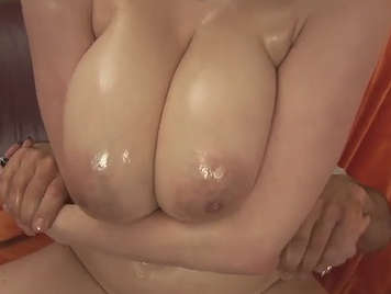 Fucking with a Czech girl of spectacular huge natural boobs
