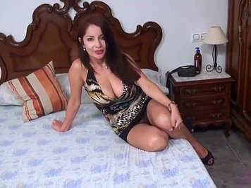 The first porn video of the busty Susana Alcala