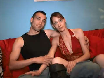 Unemployed couple doing porn video for money