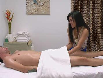 masaje con cámaras de video ocultas de erección