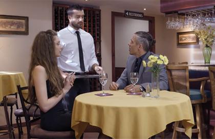 Peliculas porno italianas restaurante baño Novia Infiel Follando Con El Camarero En El Restaurante Conejox Com