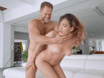 The horny Penelope Cum caught and fucked by Nacho Vidal
