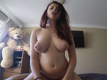 Natural big tits homemade