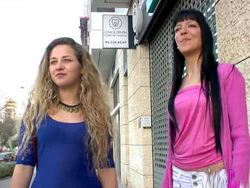 Porno casero amateur follando con dos hermosas chicas lesbianas
