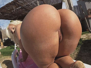 Big ass for a giant cock