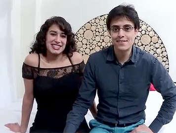 Poro casero amateur español, trio dexo con una pareja latina amateur follando en un video porno casero