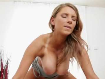 Fucking blonde from East of Europe with big natural tits