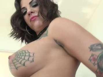 Tatuada folla Rocco Siffredi