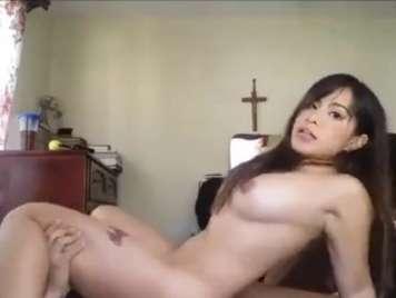 Mexicanas culea con su pareja en su cuarto