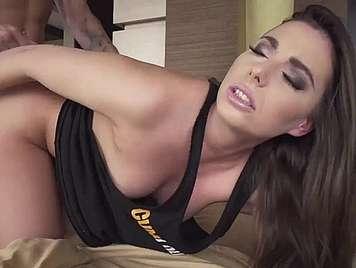 Porno español Nacho Vidal se corre en la boca de Carla cruz