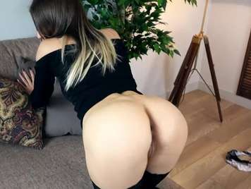 Casero video porno con mi novia nalgona