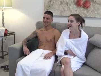 Spanisch Amateur Paar hat Analsex