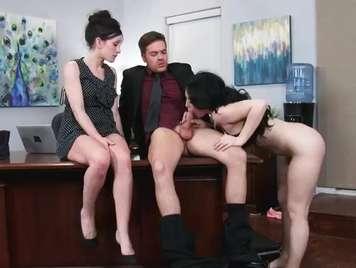 Mein Chef und seine Sekretärin sind Nymphomaninnen