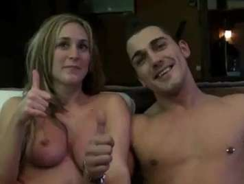 Spagnolo porno amatoriale a casa con due cornea