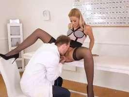 video porno Dottore