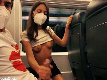 Follando en público durante la pandemia