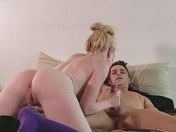 Paar Amateur-Porno von Webcam