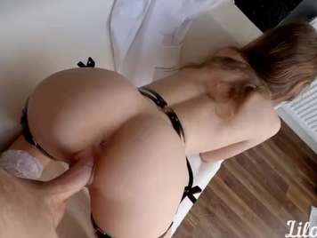 Sexo casero con creampie final