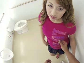 Polvo en unos lavabos publicos