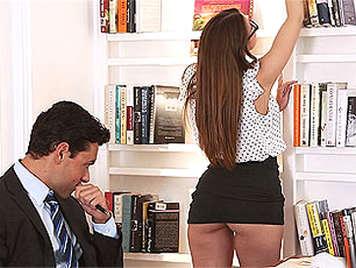 La secretaria atrevida