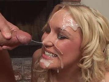 Noche checo semen en la cara