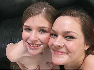 Casting porno a dos jovencitas amateurs muy simpáticas y naturales