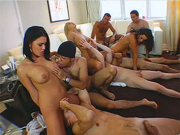 Swingers orgy between friends, the unmarried fuck much better