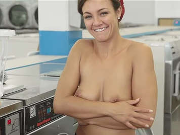 Fucking in the laundry room with the girl next door