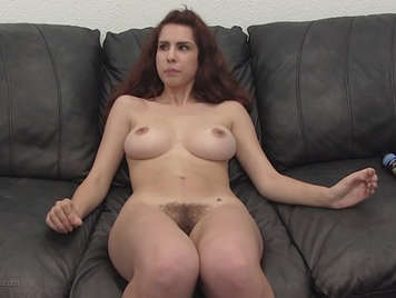 21 Years Old All Natural Lola in her first porn casting