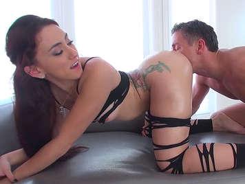 fucking ass in a hardcore sex