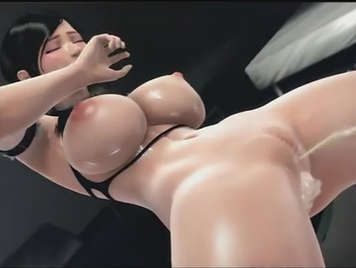 Hentai sex porn movie in 3D, Japanese busty girl fucked hard, squirts like a bitch