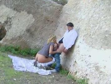 Sexo en publico con una latina