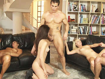 Neighborhood Swingers orgy